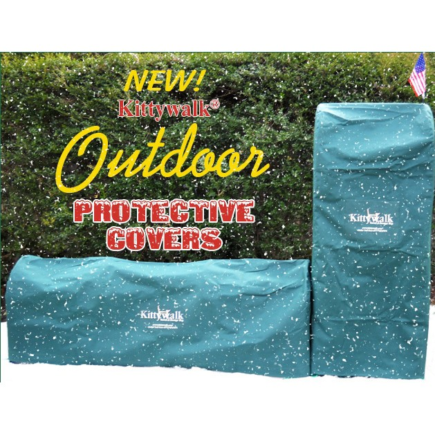 Kittywalk Outdoor Protective Cover for Town & Country Collection - KWTCOPC