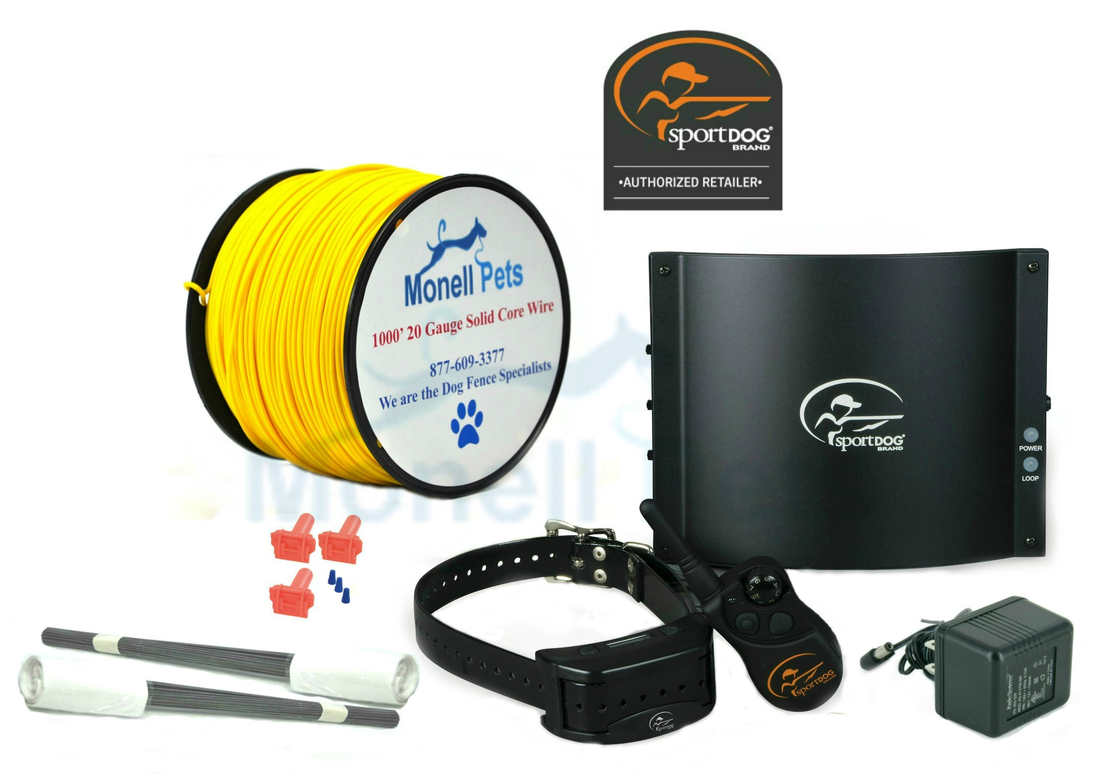 SportDog Contain + Train In-Ground Dog Fence SDF-CT with 20 Gauge Wire