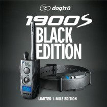 Dogtra 1900S Black Edition 1 Mile Remote Dog Trainer Black - 1900S-BLACK