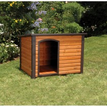 "Precision Extreme Log Cabin Dog House Small 33.5"" x 24.5"" x 22"" - 2701-1SMALLDI"