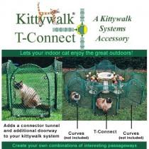 Kittywalk Single T-Connect Unit - KWCON1