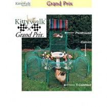 "Kittywalk Grand Prix 86"" x 70"" x 5' – KWGP550"