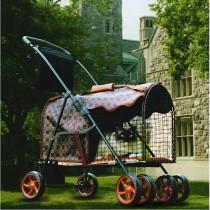 "Kittywalk Royale Classic Stroller 26"" x 13"" x 16"" – KWPSROYCL"