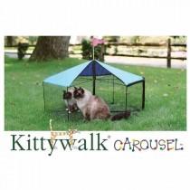"""Kittywalk Carousel 48"""" diameter x 24"""" – KWSCAR105"""