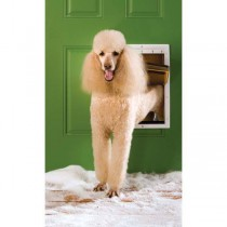 PetSafe Extreme Weather Door White Large PPA00-10986
