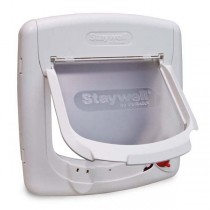PetSafe 4 Way White Cat Flap - PPA00-11325