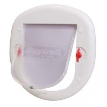 PetSafe 4 Way Big White Lock Cat Flap - PPA00-11326