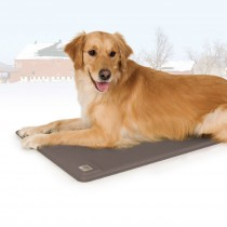 K&H Pet Products Deluxe Heated Kennel Outdoor Dog Pad with temperature control