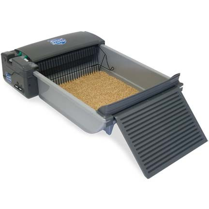 Our Pets Deluxe SmartScoop Self-Scooping Litter Box - 1550012613