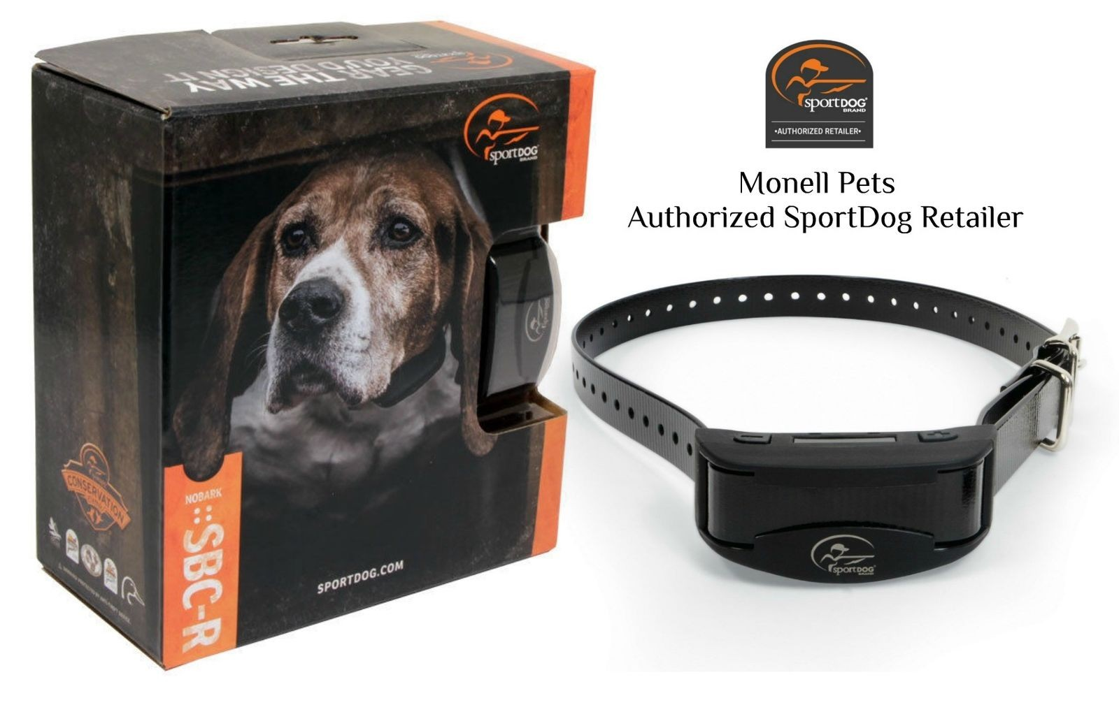 SportDog SBC-R Rechargeable Waterproof Stop Barking, NoBark Dog Collar