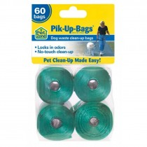Our Pets Pik-Up-Bags 60 count Green - 2150010050