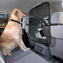 "PetSafe Solvit Front Seat Net Barrier Black 32"" x 32"" x 0.5"" - 62338"