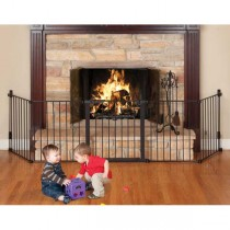 Kidco Auto Close HearthGate Black