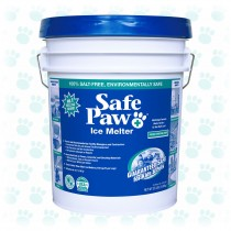 Safe Paw Ice Melter 35lb Pail Non-Corrosive, Pet Safe Ice Melt