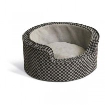 K&H Pet Products Round Comfy Sleeper Self-Warming