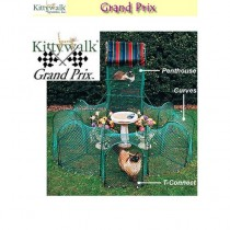 "Kittywalk Grand Prix 86"" x 70"" x 5' – KWGP550"
