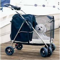 Kittywalk 5th Ave Luxury Pet Stroller