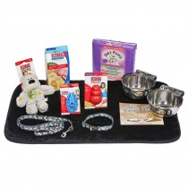 Midwest Puppy Starter Kit Medium Includes bowls, collar,toys and more - PUPKIT-S