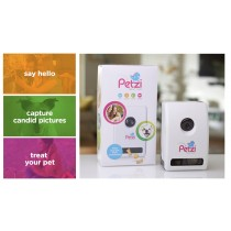 Wagz Petzi Treat Cam Interactive Pet Camera and Remote Treat Dispenser PET0025