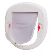 PetSafe 4 Way Big White Lock Cat Flap - PPA00-11326