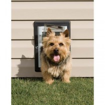 PetSafe Wall Entry Aluminum Dog or Cat  Door Small - PPA11-10915