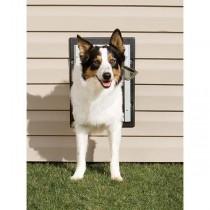 PetSafe Wall Entry Aluminum Dog or Cat Door Medium - PPA11-10916