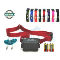 PetSafe Stubborn Dog In Ground Fence Receiver Collar with extra battery and extra colored collar strap - PRF-275-19