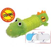Petstages Stuffing Free Big Squeak Gator - PS631