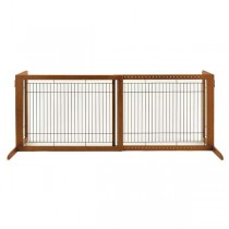 "Richell Freestanding Pet Gate HL Autumn Matte 39.4"" - 70.9"" x 23.6"" x 27.6"" - R94147"