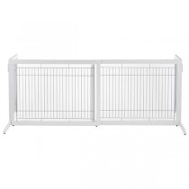 "Richell Freestanding Pet Gate HL White 39.4"" - 70.9"" x 23.6"" x 27.6"" - R94159"